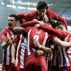 Atletico beats Leverkusen 4-2 in Germany in Champions League