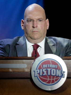 Detroit Pistons general manager Jeff Bower in May 2015.
