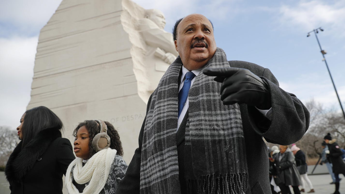 MLK III calls out Trump on alleged immigration comments