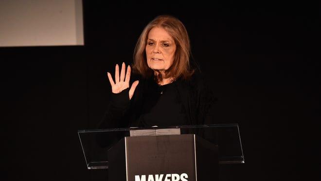 Gloria Steinem speaks at Terranea Resort on Feb. 2 2016,  in Rancho Palos Verdes, Calif.