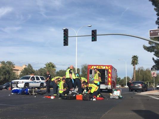 Chandler motorcycle crash