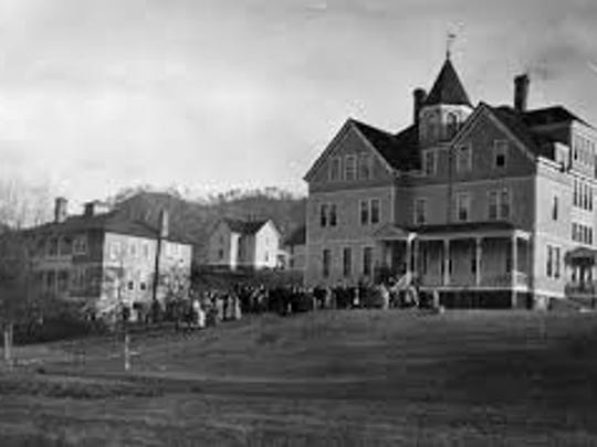 The Dorland-Bell School, founded in Hot Springs in 1886, merged with what is now Warren Wilson College in 1942.