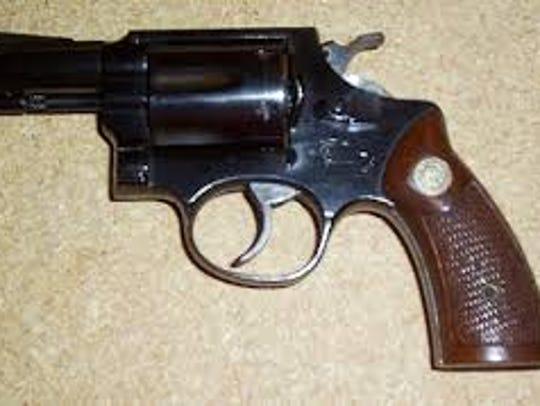 A INA Nac De Armas of Brazil .32 caliber, similar to