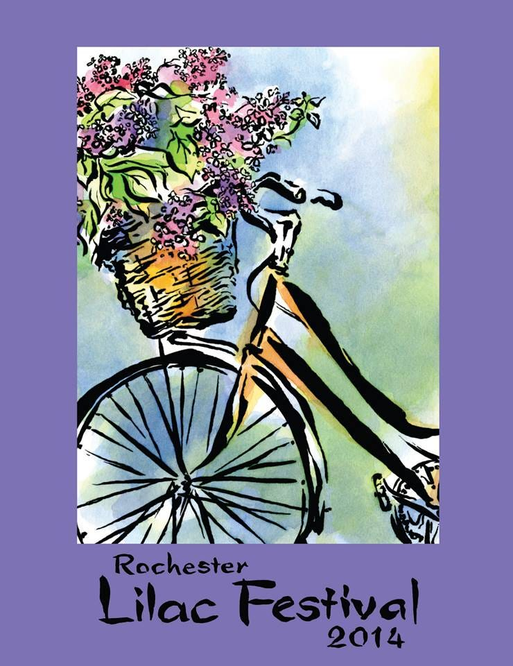 2014 Rochester Lilac Festival Poster - Rochester Lilac ...