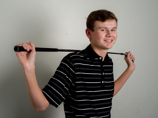 Hendersonville junior Bryce Lewis is Co-Golfer of the Year on the Boys All-County Golf Team.