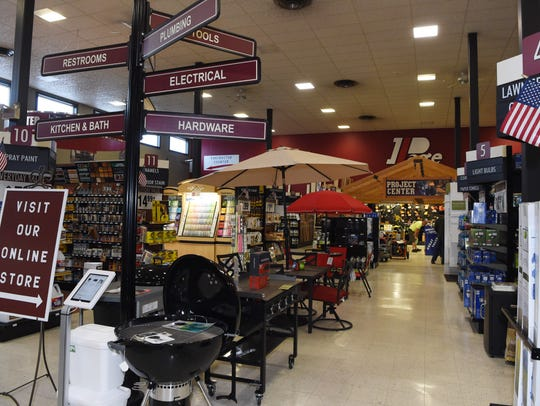 A view of the interior of Page Home Centers in the