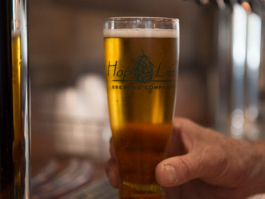 HopLife Brewing Company is owned by St. Lucie County Fire District veterans Rob Tearle and Jim Kelly, along with Jeff Blitman, and offers lagers, ales, IPAs, pilsners, porters and more. The brewery is celebrating National Beer Day with happy hour all day and prizes starting at noon Saturday.