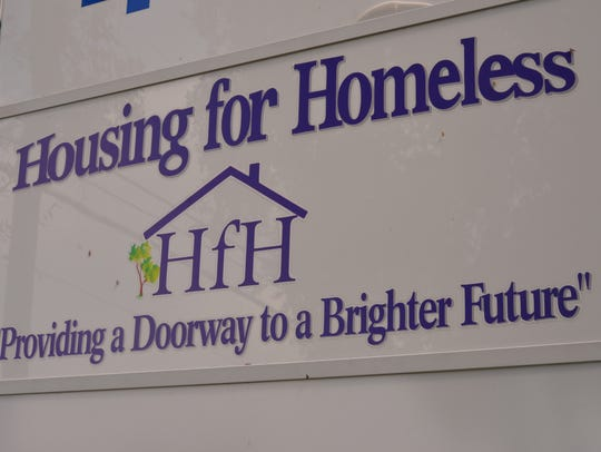 Clients at Housing for Homeless in Rockledge are training