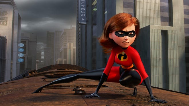 """Holly Hunter is the voice of Elastigirl in """"Incredibles 2."""""""