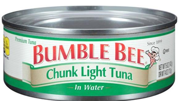 Bumble Bee can of chunk light tuna.