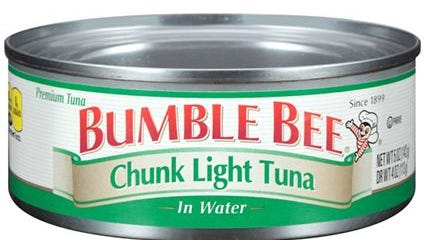 Bumble Bee Foods, LLC. is recalling 31,579 cases of canned Chunk Light tuna over possible contamination issues.