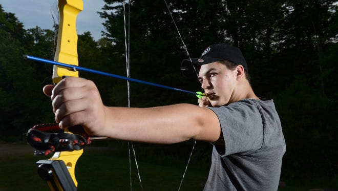 Crooksville High School's Larry Eyman III will be traveling to South Africa in July to represent the United States in the 2016 National Archery in the Schools Program All-Star Championship. Eyman will compete against archers from Canada, Namibia, Zimbabwe and the United States during the three-day event which includes bullseye and 3-D target shooting.