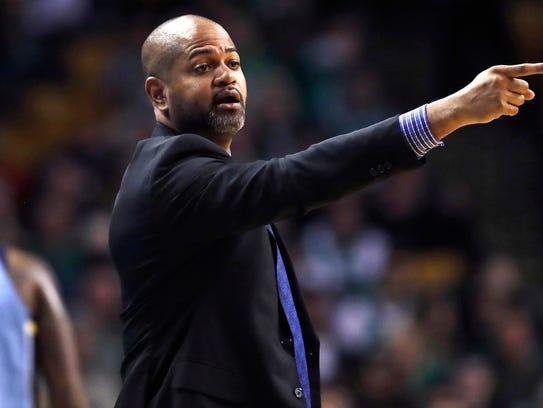 Memphis Grizzlies head coach J.B. Bickerstaff calls
