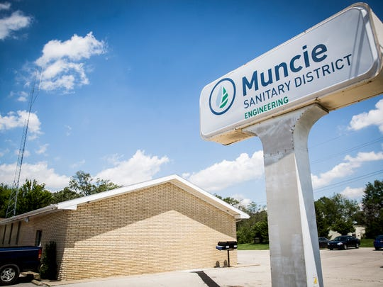 The Muncie Sanitary District Engineering offices.