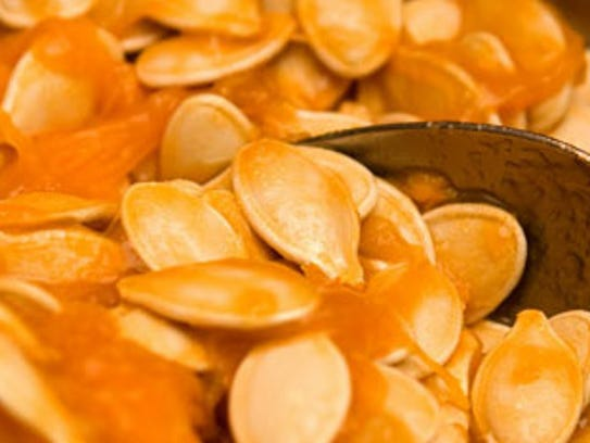 Pumpkin seeds.