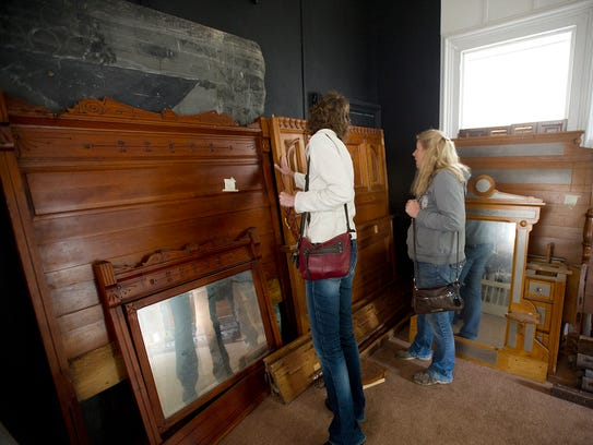 Antique bedrooms sets were part of a collection of