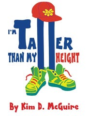 'I'm Taller Than My Height,' a children's book by Kim