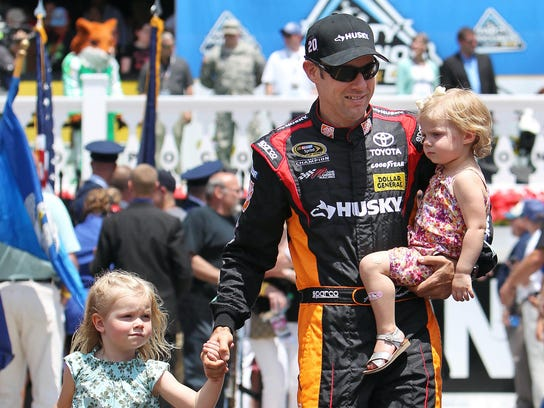 9-14-2013 matt kenseth daughters