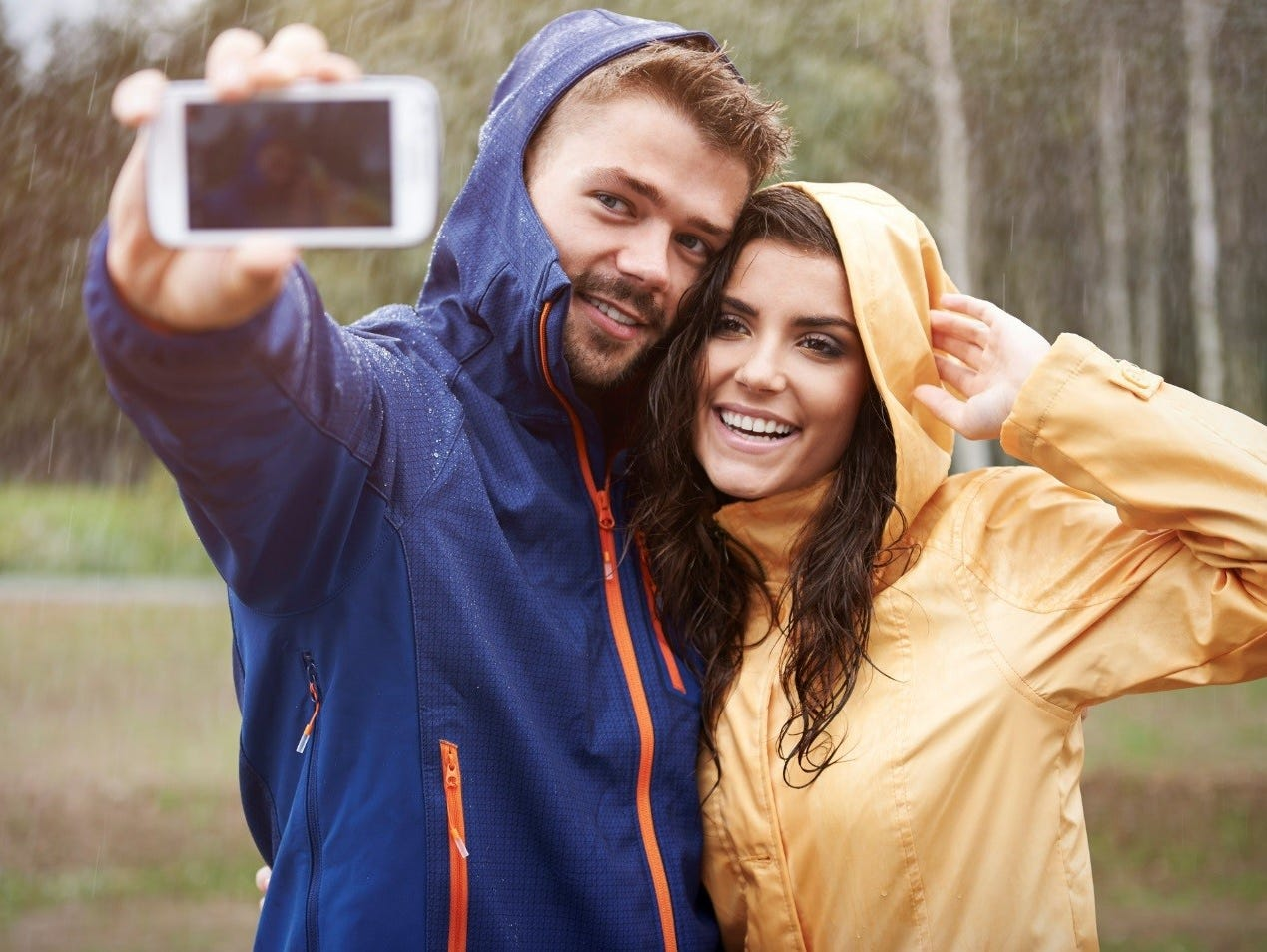 Protect your phone during upcoming rainy days with $50 to spend at Best Buy.  Enter 4/3-4/24.