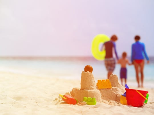 Don't overthink it with the beach activities. A simple bucket and shovel can make a lifetime of memories.