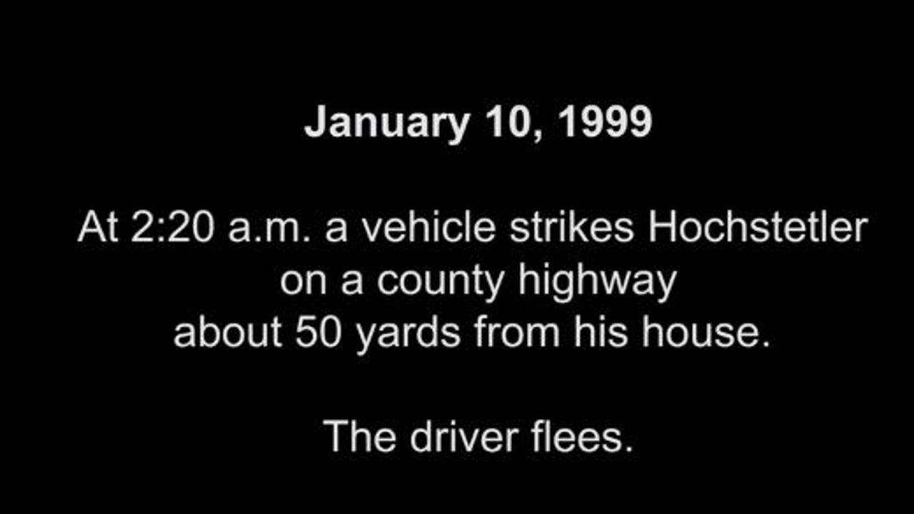 Video timeline of the Ricky Hochstetler case