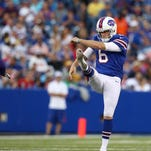 The Buffalo Bills released punter Shawn Powell on Friday.
