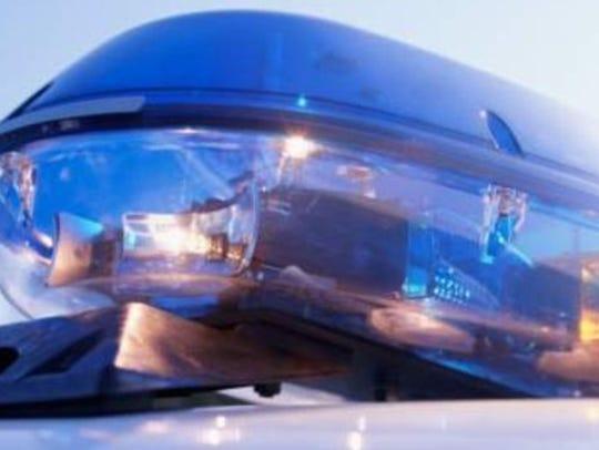File photo: Police lights
