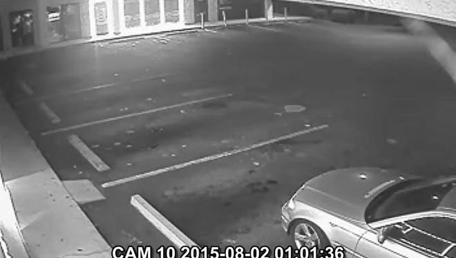 Suspect's car in lottery theft