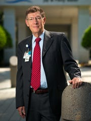 Dr. Allen Weiss, president and CEO of the NCH Healthcare System