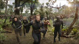 People are going to be running to 'Avengers: Infinity War,' which tops Fandango's most-anticipated movies of 2018.