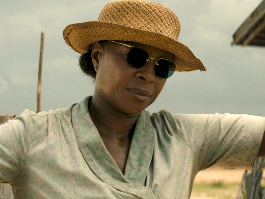 Mary J. Blige in a scene from 'Mudbound.'