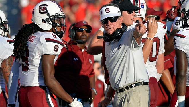 A lack of talent, not coaching is the reason for Steve Spurrier's struggles.