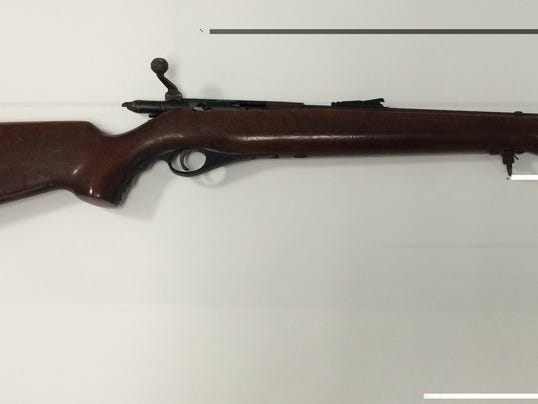 Rifle used in Ridge Road incident