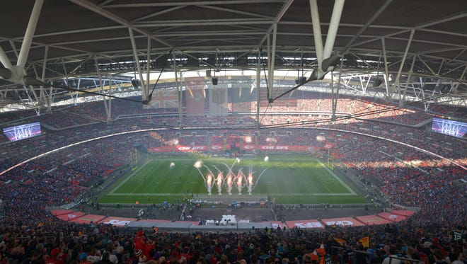 The NFL International Series between the Detroit Lions and the Kansas City Chiefs at Wembley Stadium. The Bengals will play there in 2016.