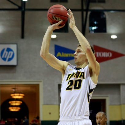 Iowa coach Fran McCaffery wants leading scorer Jarrod