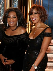 "Gayle King says best friend Oprah Winfrey is not actively considering running for president but is ""intrigued by the idea."""