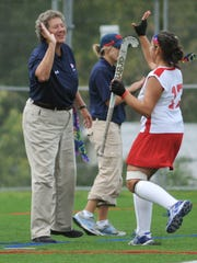 Shippensburg field hockey coach Bertie Landes officially retired on July 31, 2017 after 18 years at SU and 47 years coaching field hockey.