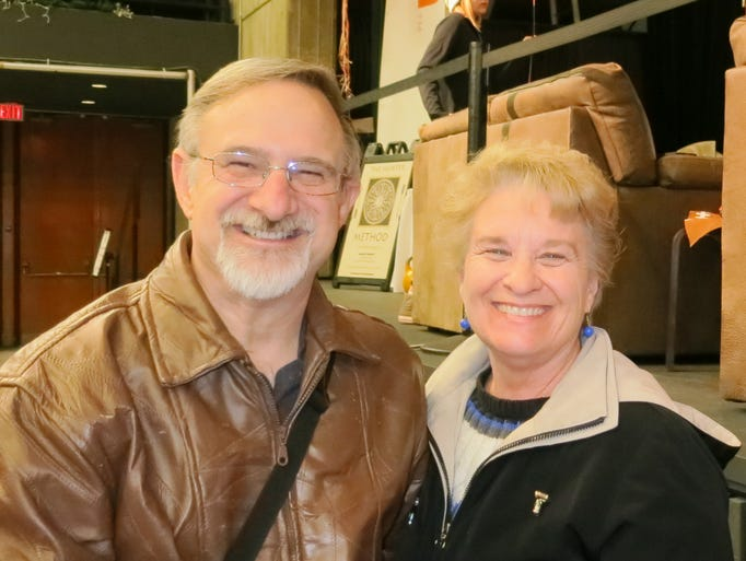 Chris and Marcia Braun of Redding attend the Redding