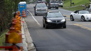 A portion of Scenic Highway has been repaired.