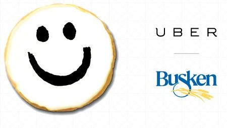 Ride sharing app, Uber, is offering on-demand cookies to its Greater Cincinnati customers in celebration of its one-year anniversary in the Queen City.