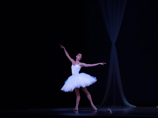 Dance Theatre of Harlem Artist Lindsey Croop in Divertimento photo by Rachel