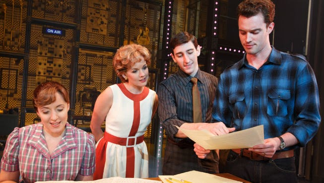 On Broadway, the show BEAUTIFUL recounts bits of Carole King's life set to the music she's written throughout her career. The show currently resides in New York, London, and touring productions around the world.