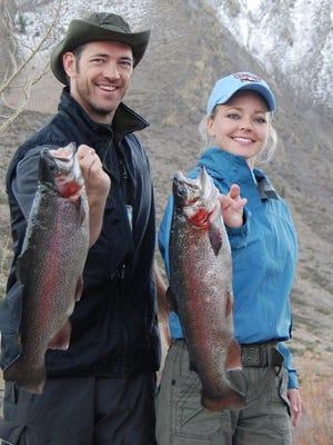 JT Codd (left) and Cristie Schoen Codd