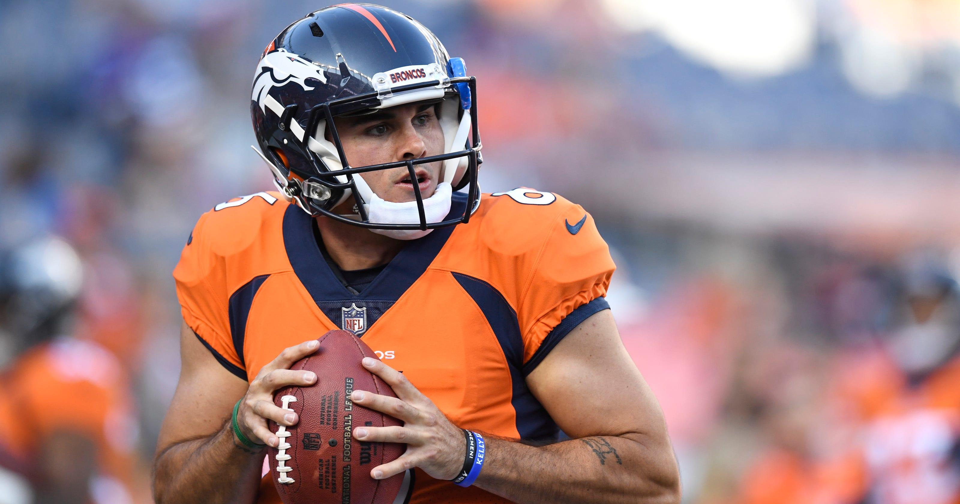 45a1b77569a Broncos backup QB Chad Kelly arrested