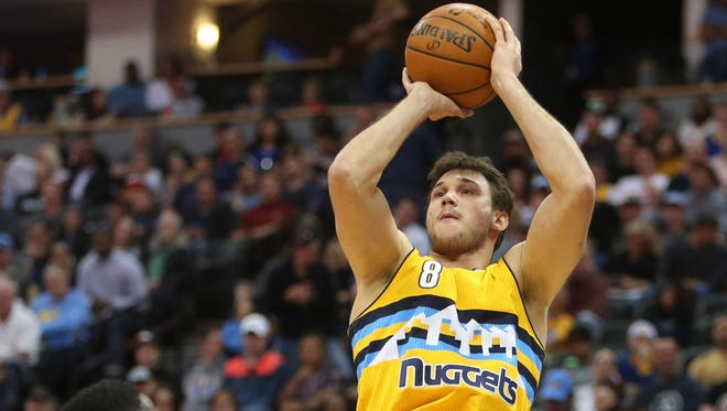 Danilo Gallinari could be on his way out of Denver if a potential three-team NBA trade goes down.