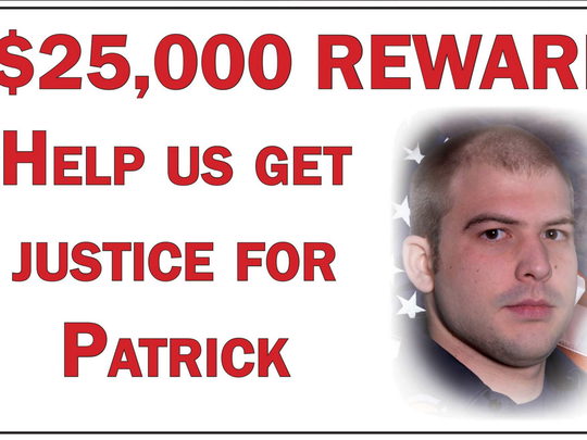 The reward increased to $25,000 for information regarding the arson that led to firefighter Wolterman's death.