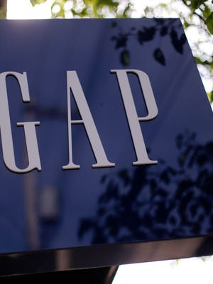 A Gap store in Pittsburgh's Shadyside section.