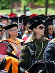 Union University held its 191st graduation ceremony Saturday on the Great Lawn at the university.