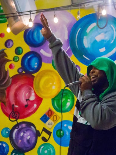 The College of Social Sciences and Public Policy's Sociology of Hip Hop Culture course hosted the Hip Hop Showcase at Garages on Gaines on Thursday, December 1, 2016.