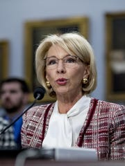 To newly emboldened Democrats who view education as their exclusive fiefdom, Education Secretary Betsy DeVos has become a political pinata, Scimeca says.